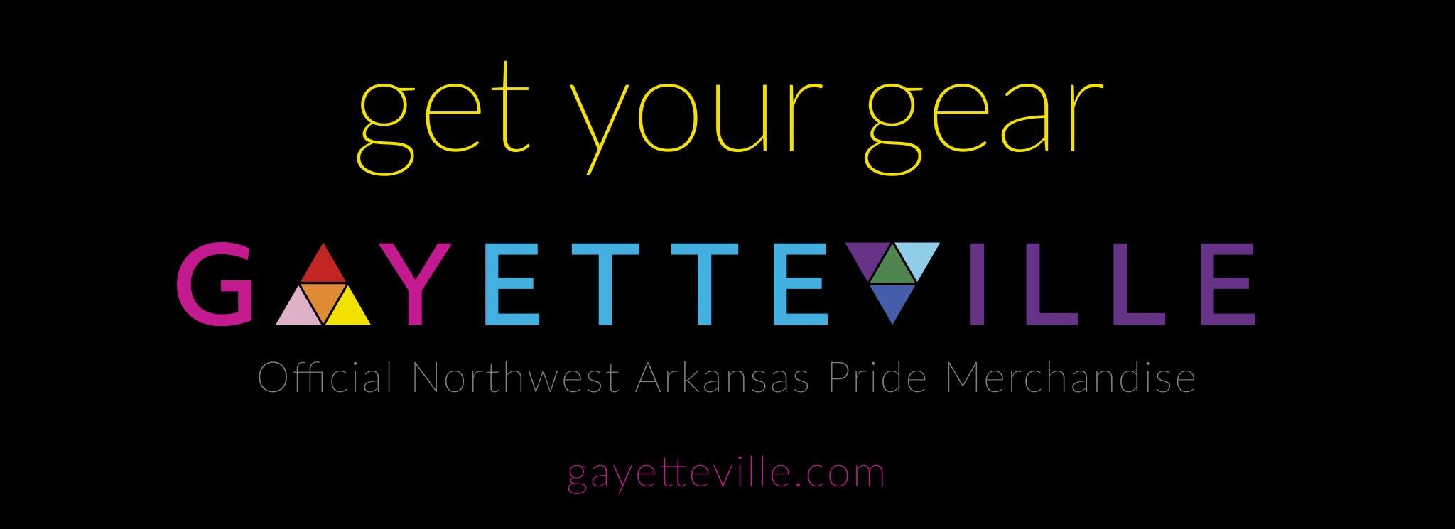 Get Your Gear. Gayetteville: Official Northwest Arkansas Pride Merchandise